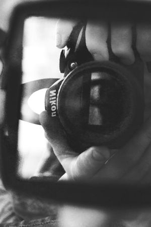 Take A Shot Taking Pictures Taking Photo Nikon Black And White B&w Focus Object Close Up Technology