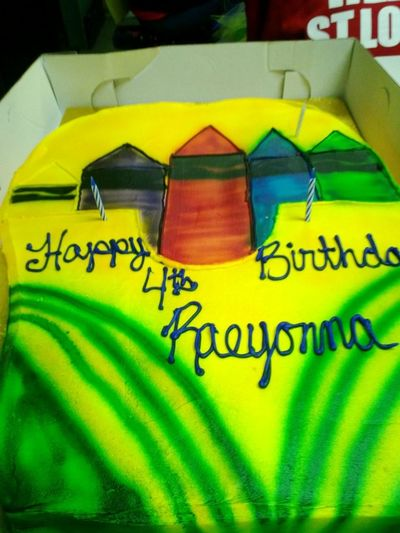 My La' Cousin Bday Cake ( Crayola Party