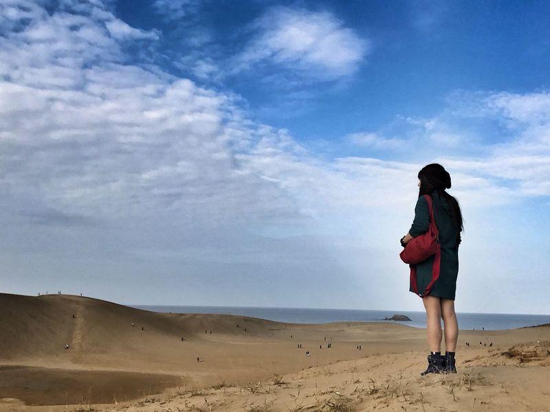 遥か彼方に… 鳥取砂丘 Tottori Dune
