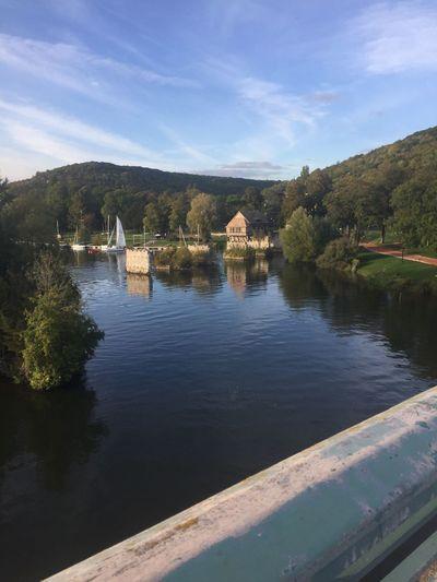 Maison sur l'eau pont de vernonVernonn Seine First Eyeem Photo
