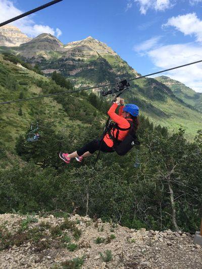 Adventure Zipline Ziplining Wasatch Wasatch Mountains Sundance Utah Mountains Utah Over The Treetops