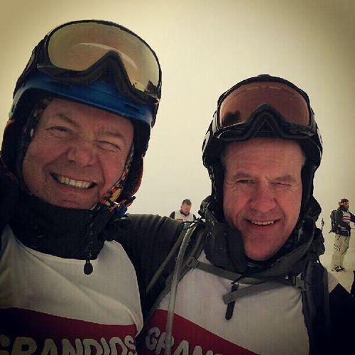 Snart er det Alperittet på Strandafjellet igjen. Soon it will be Telemarkskiing race again, and the oldboys are ready. I_love_norway droidedit Norway winter freeskier freeride telemark teleskiing