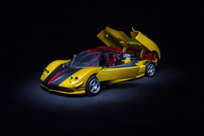 super car Diecast Diecastphotography DiecastIndonesia Diecastcars Diecast_addict Diecastcollector Diecastlovers Diecast_daily Diecastphoto Diecastjakarta Diecast Car Model Black Background Black Color Studio Shot No People Yellow Indoors  Racecar