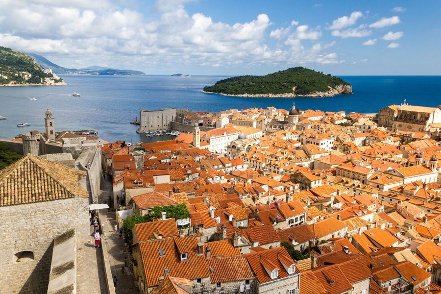 Dubrovnik, Croatia Gameofthrones Games Of Throne Kings Landing Town Adriatic Sea Neighborhood Map