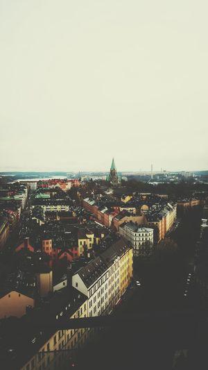 the city where I live . Hello World City View