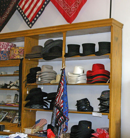 Top Hats Choice Collection Confederate Flags Confederate Hats Day Fashion Fedoras For Sale Hats For Sale Indoors  Mens Hats No People Red Hats Retail  Shelf Store Variation Hat Boxes Cowboy Hats  Black Hats Stars And Stripes California Dreamin