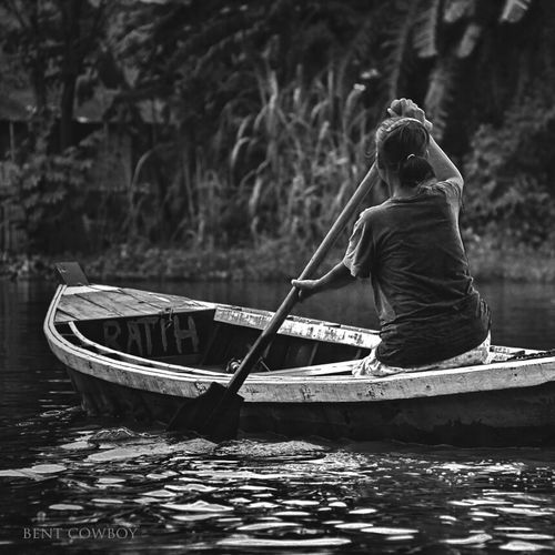 old woman River Nature Blackandwhite Boat Woman Monochrome Streetphoto_bw