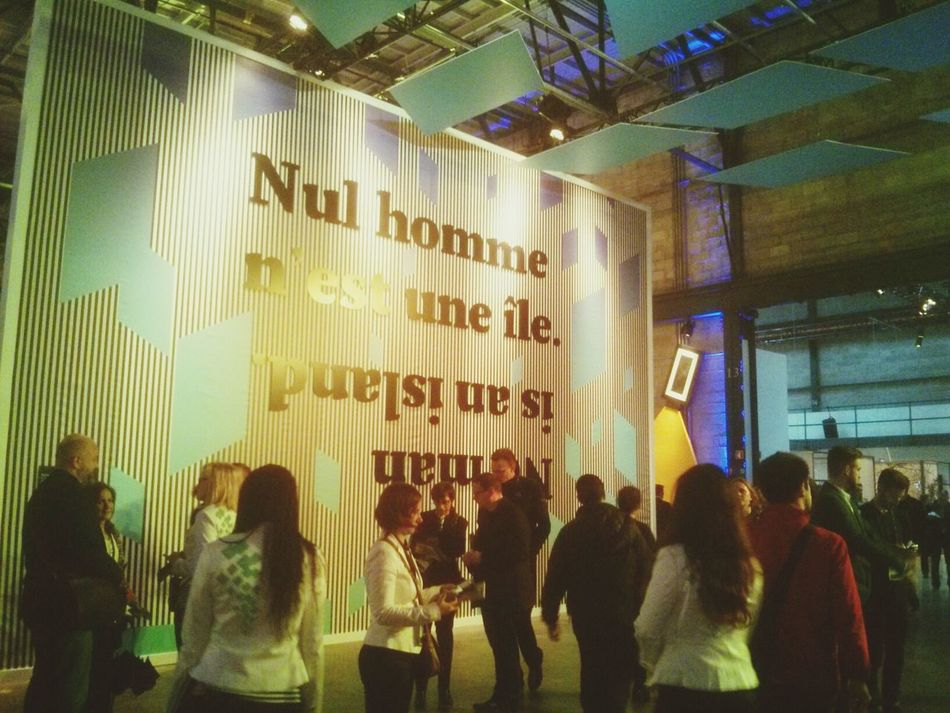 """""""No Man is an island"""" C2MTL Conference Montreal, Canada"""