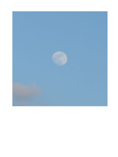 I captured this luminary Blue Day The Moon Astre Blank Copy Space Luminary Mond Original Sky Stern Tranquility Base White Color White Frame