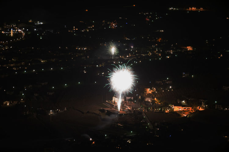 Lagundo Fireworks Relaxing Landscape Sky Colours