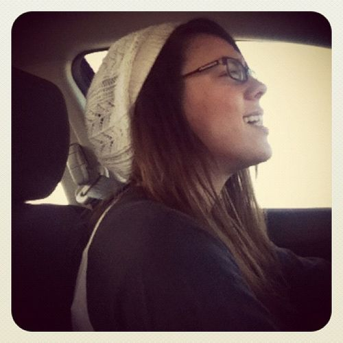 Singing in the car with ur Sister ~ BestShitEver Motivated cute hat @amycollins86 instago photooftheday