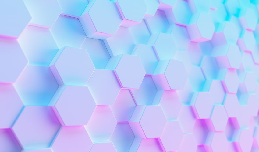 Futuristic Sci-Fi Modern hexagonal background with Purple And Blue Glowing Neon light, Wallpaper background White Wallpaper Virtual Reality Trendy Technology Surface Square Shape Row Repetition Realistic Rainbow Purple Play Pink Color Pink Pattern Party Octagon No People Network Neon Modern Light LED Large Group Of Objects Indoors  Hive Hi-tech Hexagonal Hexagon Glow Geometry Geometric Shape Gaming Gamer Futuristic Full Frame Fluorescent Event Entertainment Electric Effect Disco Digital Composite Digital Design Cyber Copy Space Connection Concept Computing Computer Composition Complexity Colorful Close-up Business Blue Background Blue Backgrounds Background Art Abundance Abstract 3D