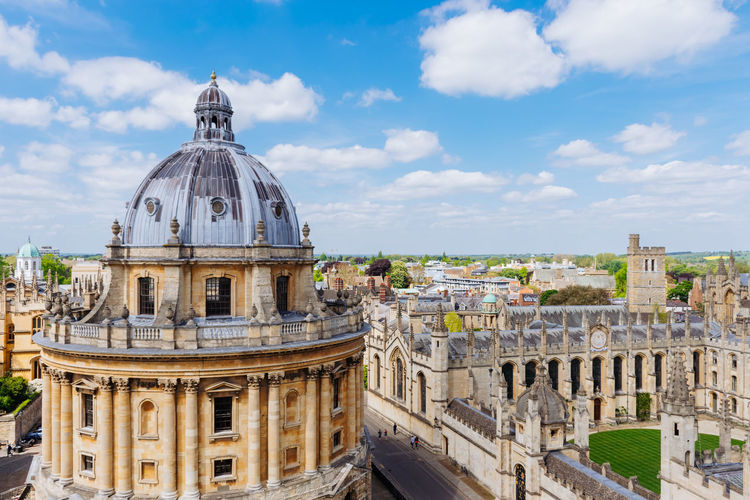 Historic radcliffe camera against sky