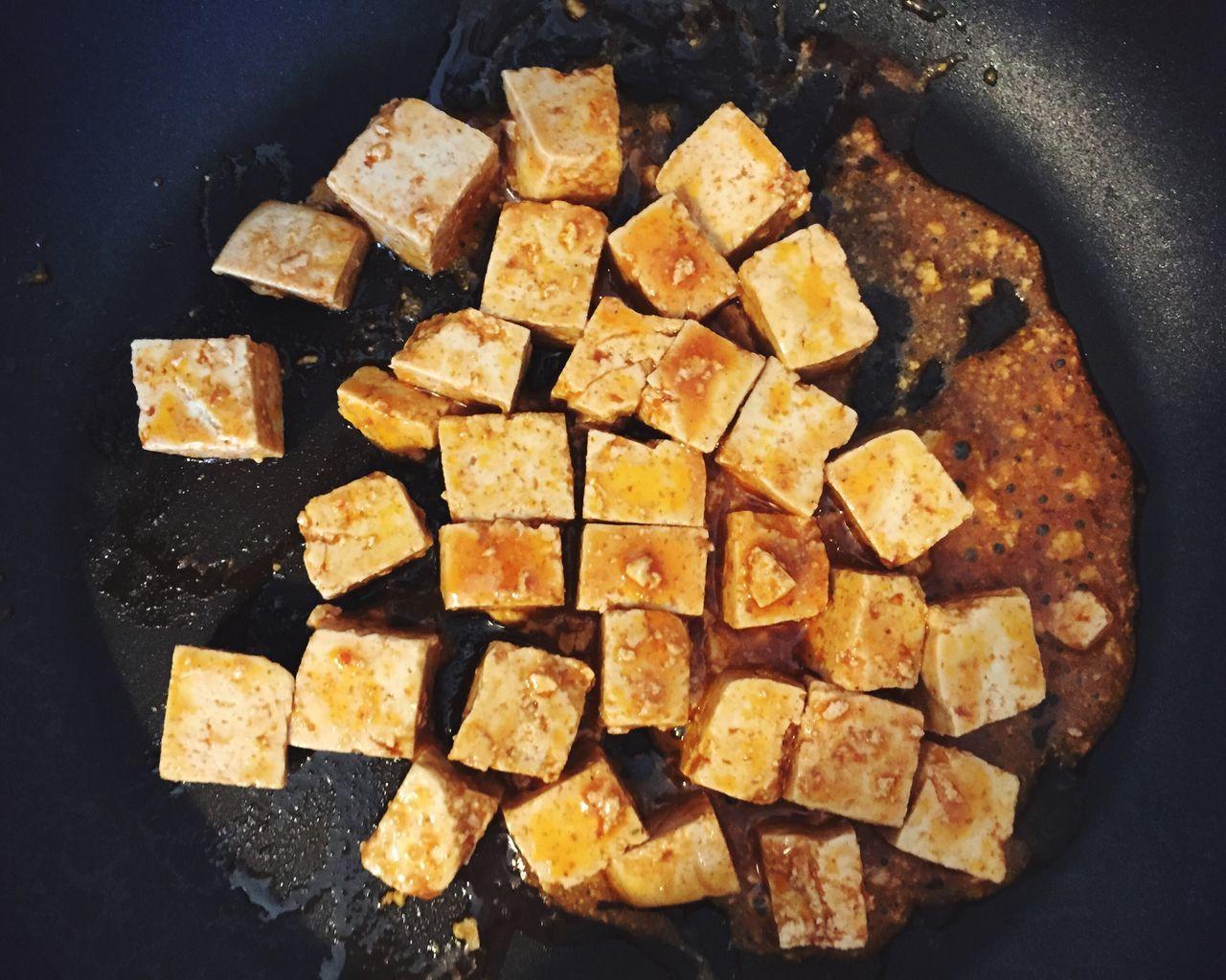 Detail Shot Of Tofu