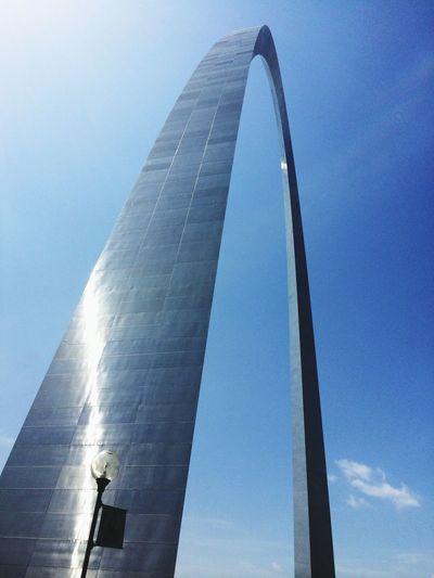 Arch Gateway Arch Historical Sights America