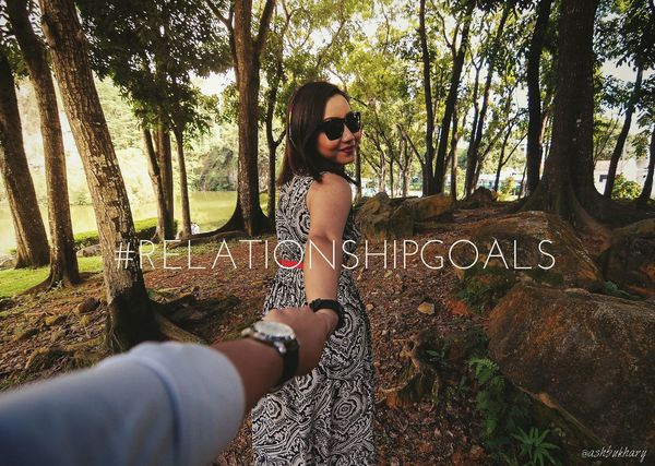 The Five Senses Relationshipgoals Eye4photography  Love Couple Relationship Nikon Scenery Walking Around Girlfriend