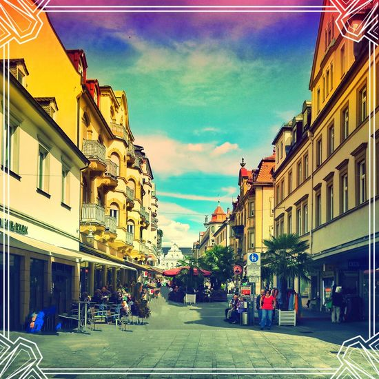 Germany Enjoying Life Sightseeing Go Retro!