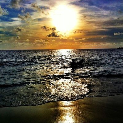 Monochrome Sunset IPhoneography Islandlivity Islandlife Instapretty Instagram IPhone Instagood Sea Beach Skysnappers Skyporn Cloudporn