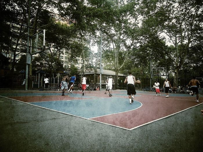 NYC Mclaughlinpark Brooklyn Brooklyn Nyc Streetball Streetbasketball Basketball Basketball Game Basket BasketBallneverStops Basketball ❤ Ballislife United States USA Photos New York New York City USA Frenchguyinnyc EyeEmBestPics Sport Sport In The City Sports Photography Sports