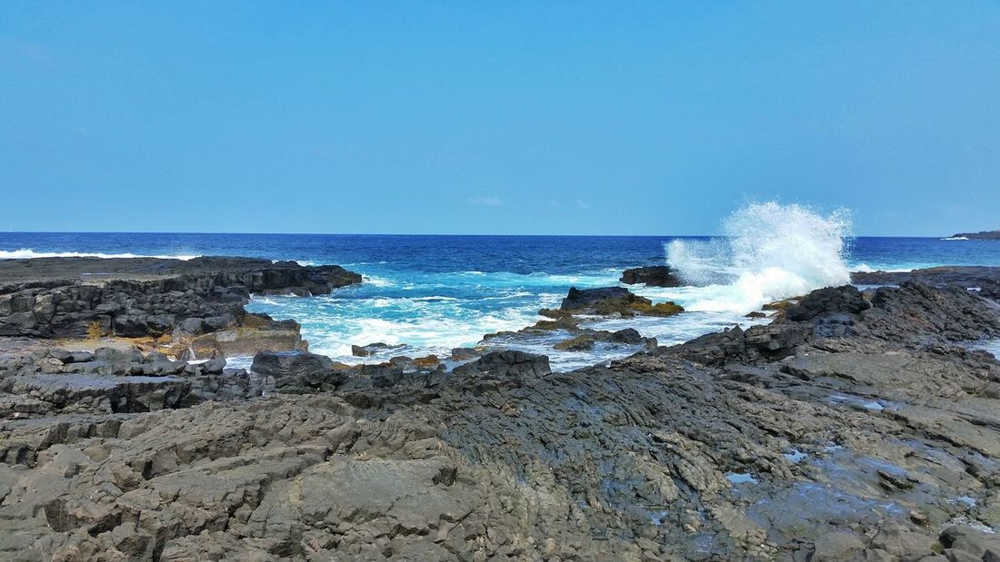 Ocean Outdoors Check This Out Vacation Travel Photography Solo Traveler! Hawaii Beach Blue Ocean Waves