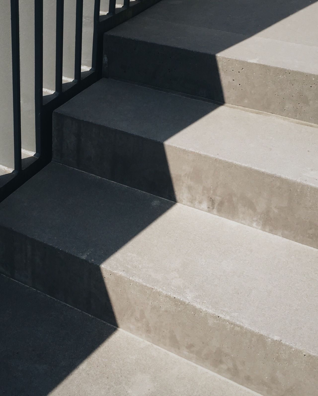 Detail shot of stairs