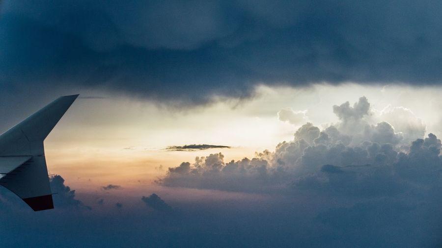 Wonders In The Sky Sky Colors In The Sky Cloud - Sky Colorful Sky Colorful Clouds First Eyeem Photo