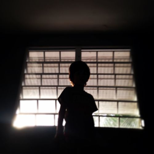 Attitude for days. Silhouette Window Light And Shadow IPhoneography EyeEm Best Shots Youmobile NEM Mood Kids