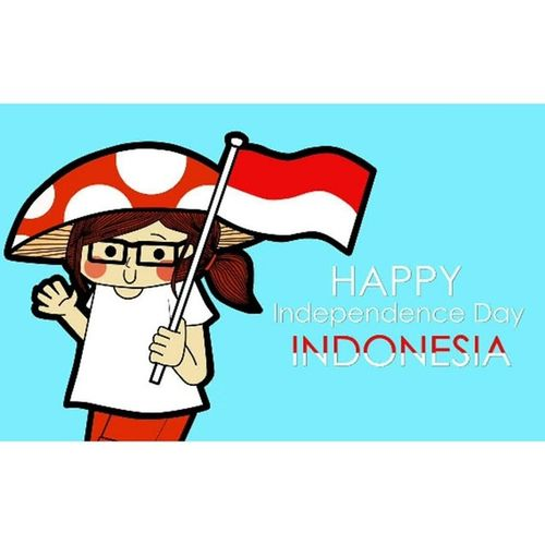 HAPPY INDEPENDENCE DAY, INDONESIA! yang ke-69 MERDEKAAAAAAAAA