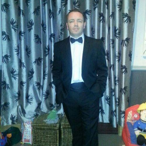 I'm ready for my Nightout Tuxedo Blackandwhite Dickiebow 007