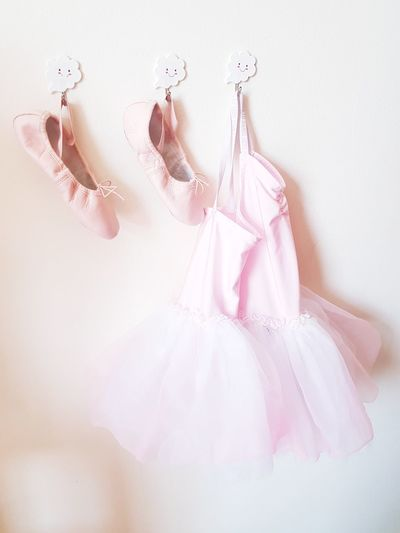 Close-Up Of Ballerina Costume Hanging On Wall
