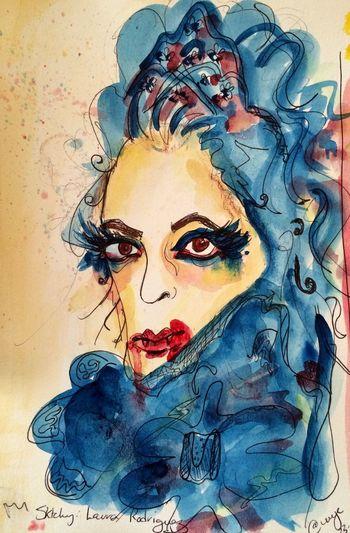 Sktchy inspired, laura. Watercolor portraits Art, Drawing, Creativity Art Drawing Drawingaday