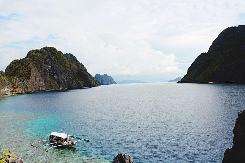 Edge Of The World Elnido Island Philippines Summer Vacation Traveling