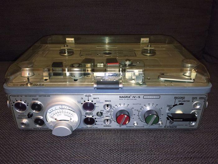 Nagra IVs Kudelsky Tape Recorder Tape Nagra IVs Nagra 4s Nagra Tonband