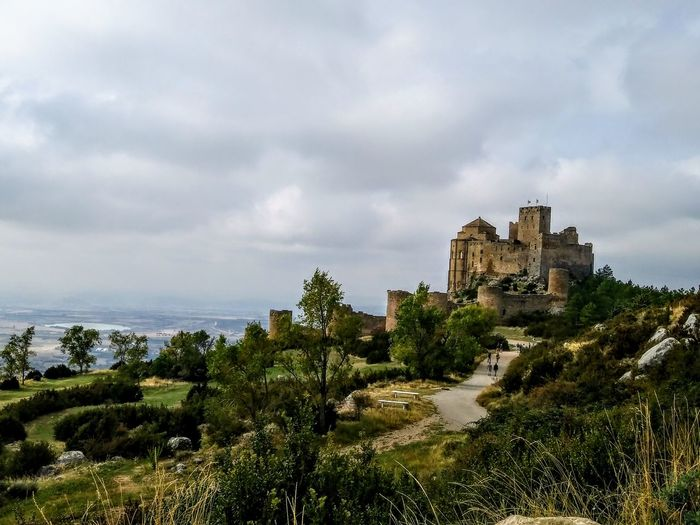 Castle Ruin Castle Castillo De Loarre Stones With History Huesca Castle Ancient Civilization Ancient History Fort Medieval Sky Architecture Fortress Tourist Attraction