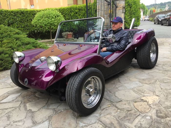 Car Classic Car Day Driving Dune Buggy Land Vehicle Manx Mayer Men Mode Of Transport One Person Outdoors People Real People Sitting Transportation Young Adult