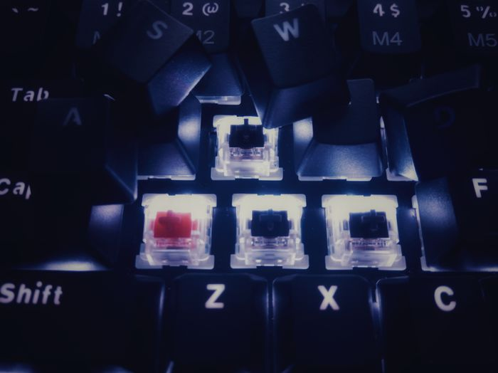mechanical keyboard red and brown outemu switches. Techno Gamingsetup Gamer Mechanical Keyboard Gaming Keyboard Mobilephotography Programmer Hacker Keyboard Switches Business Technology Alphabet The Media Business Finance And Industry Close-up Typewriter Typescript Letter A The Still Life Photographer - 2018 EyeEm Awards EyeEmNewHere