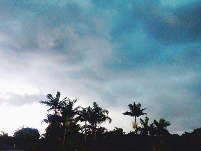 Storm Rain Clouds Brisbane