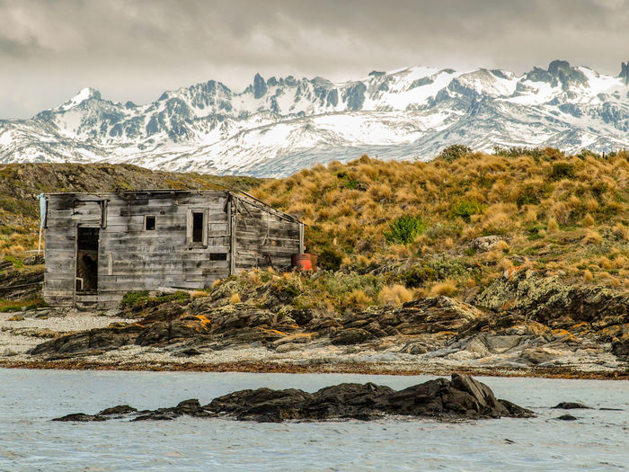broken hut on an island near Ushuaia, Tierra del Fuego Argentina CastAway  Cold Temperature EyeEm Best Shots House Landscape_Collection Nature_collection Non-urban Scene Outdoors Parque Nacional Tierra Del Fuego Rough Tranquil Scene Wildness Remote Remote Location Landscape_photography Landscapes With WhiteWall EyeEm Gallery Landscapes The KIOMI Collection The Great Outdoors With Adobe The Great Outdoors - 2016 EyeEm Awards