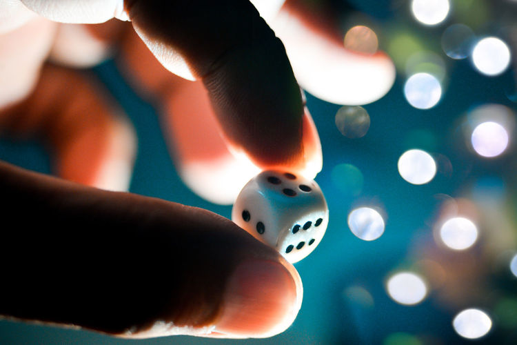 Board Game Bokeh Close-up Dice Focus On Foreground Holding Human Body Part Human Hand Indoors  Leisure Activity Lifestyles Night Playing The Week On EyeEm Mix Yourself A Good Time
