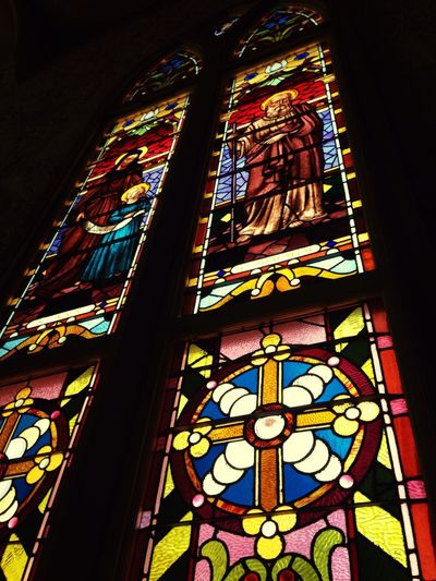 San Fernando Cathedral San Antonio Downtown Religious Architecture Glass Art