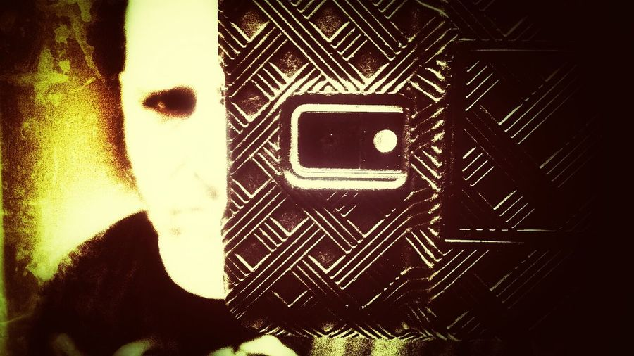 What Lurks...Behind The Lens. Snapseed Early Halloween ;) Overedited Fueling The Imagination