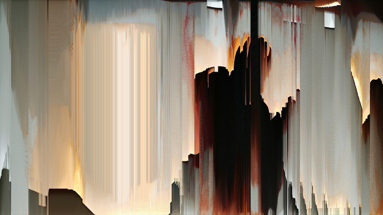 PANORAMIC SHOT OF WINDOW HANGING