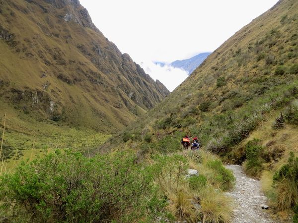 Mountain Mountain Range Scenics Hiking Nature Transportation Adventure Environment Landscape Road 4x4 Mountain Peak Mode Of Transport Travel Adult Day Land Vehicle People Outdoors Travel Destinations Dead Woman's Pass Inca Ruins Peru Porters Inca Trail Lost In The Landscape