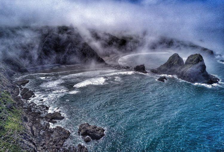 Elk morning, Mendocino coast Beauty In Nature Nature Sea Water Power In Nature Scenics