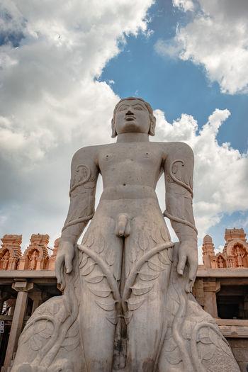 Bhagawan bahubali tallest statue symbolizing peace