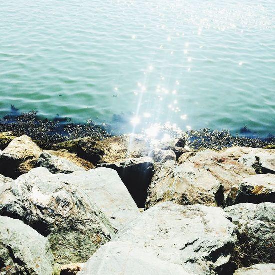 Port Scintille Soleil Sun Sea Ocean Reflet Paysage