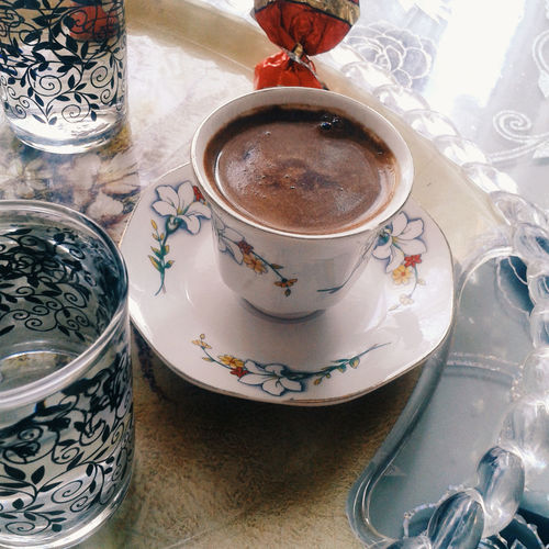Hello World Hi! Turkishcoffee Coffeepresentation Coffee Time Coffee And Sweets Coffee ☕ Coffee Cup Aking Photos Enjoying Life Eyeemphoto Samsungphotography
