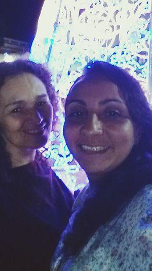 Selfie com ela. Tia Normelia