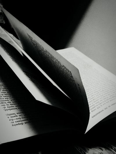 books pages novel poetry Indoors  Shadow No People Close-up Day
