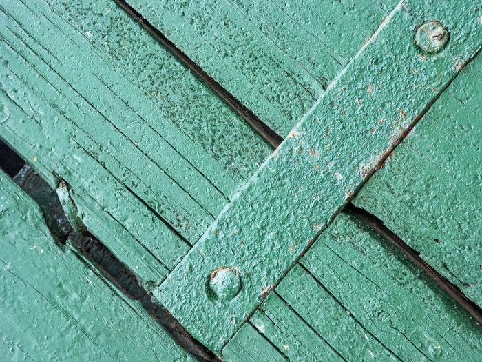 Full frame shot of water on wood